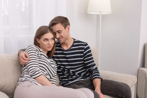 woman happy with her man who uses Progentra