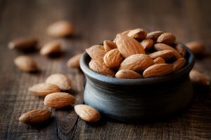 almonds has natural fat burners