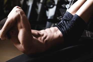 abdominal crunches