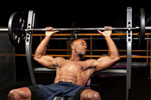 weight lifting, bench press